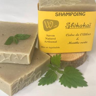 Shampoing Shikakaï - Cèdre de l'Atlas et Menthe verte