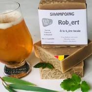 Shampoing Robiert - bière de Chastre et eucalyptus