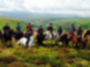 Horse Trekking Glamping Wales