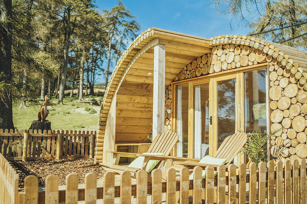 Luxury Glamping in Mis Wales