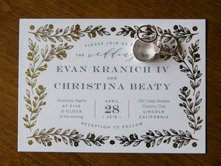 {Jenn Robirds Events} Christina + Evan