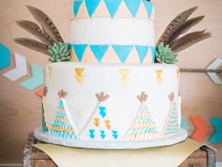 { Jenn Robirds Events } A Woodland Camping Baby Shower