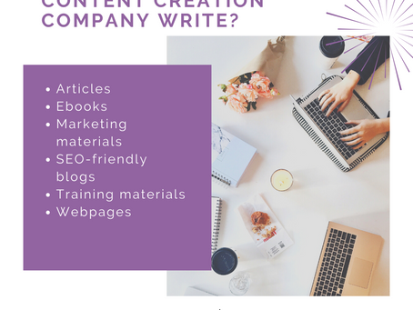 What is a content creation company?