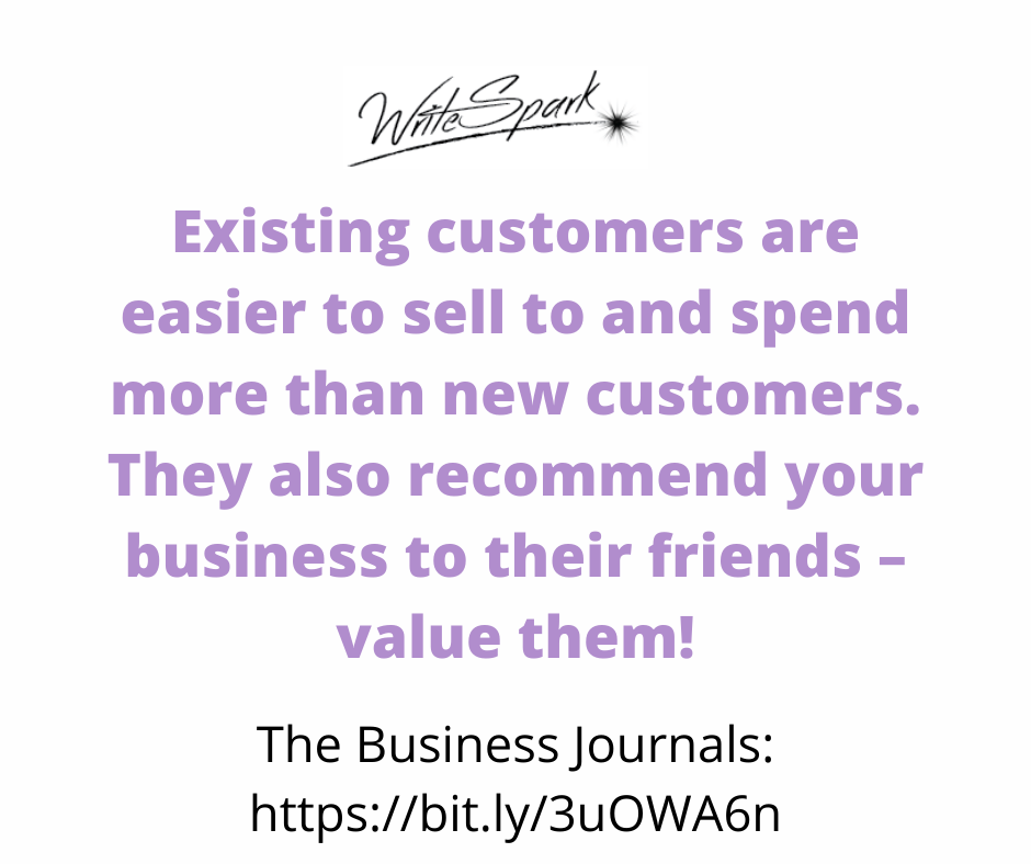 value existing customers