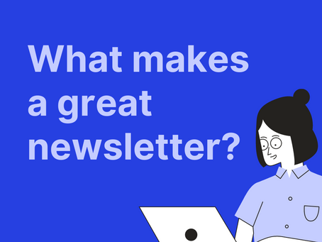 What makes a great newsletter? (Infographic)