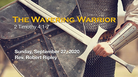 PCCC - Wavering Warrior - title graphic-