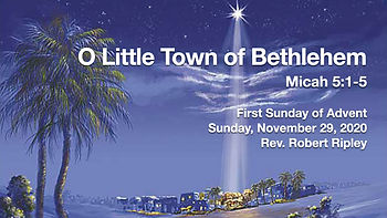 PCCC - O Little Town of Bethlehem - titl