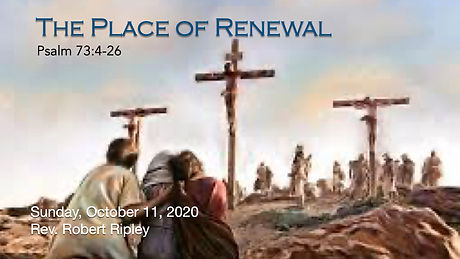 PCCC - The Place of Renewal - title grap