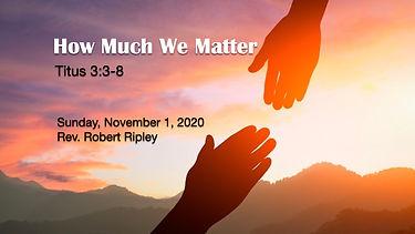 pccc- how much we matter - 110120.001.jp