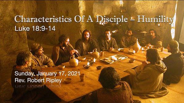 PCCC- Disciple - Humility 011721 - v2.00