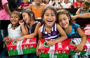 photo - OCC - girls with shoeboxes_edite