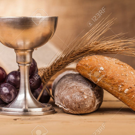 Communion this Sunday...