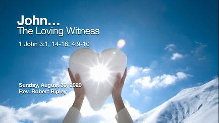 PCCC - John - Loving Witness - title gra