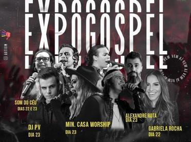 Sexta 'Expogospel' terá atrações nacionais, palestra com coach e mais