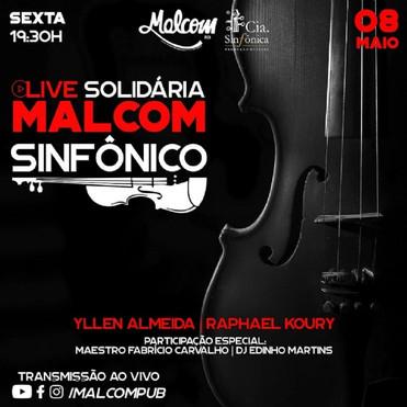 Live de quatro horas une rock e música clássica para ajudar artistas de Mato Grosso