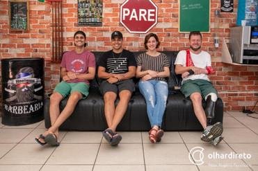 Grupo de comediantes de Cuiabá estreia show de stand-up comedy no Cine Teatro; conheça