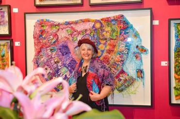 Mostra virtual tem participação de uma das artistas mais premiadas de Mato Grosso