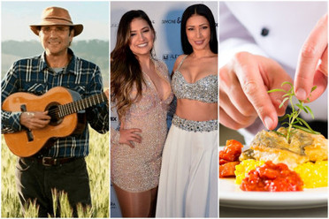 Fim de semana tem shows sertanejos e festival gastronômico