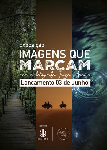 "Hotel abriga projeto ""Imagens que Marcam"" com a talentosa artista Luiza Araujo"