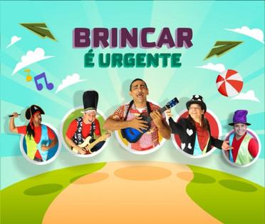 Totó Bodega e grupo Caixa de Brinquedos apresentam espetáculo musical 'brincar é urgente'