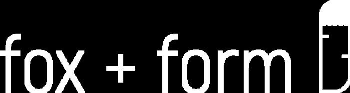 Fox and Form Logo