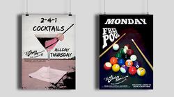 Bar Advertising Posters