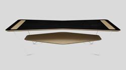 Orbit Coffee Table Side View