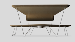 Orbit Coffee Table Underneath