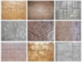 different concrete stamp patterns calgar