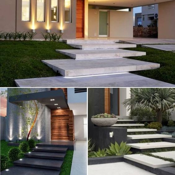 floating stairs concrete
