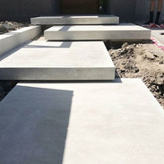 Floating concrete stair design calgary