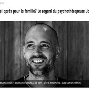 """Interview """"Quel après pour les familles?"""" Le Nouvelliste"""