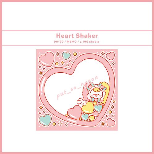 shaker heart (70g)