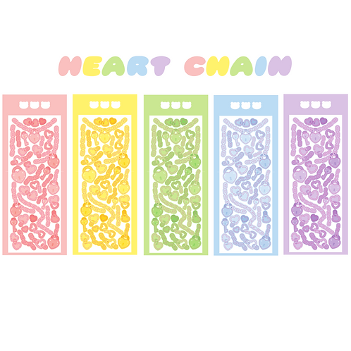 heart chain seal pack (25g)