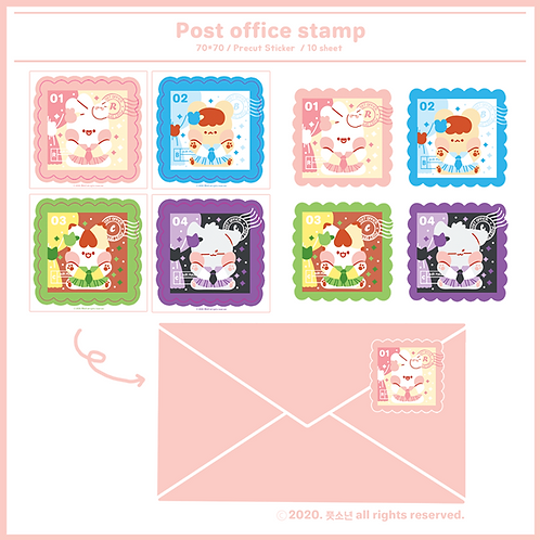 stamp : stationery (15g)