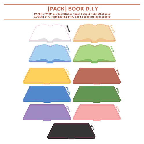 pack : book (100g)