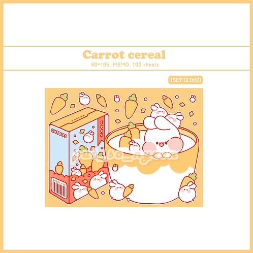 cereal carrot (70g)