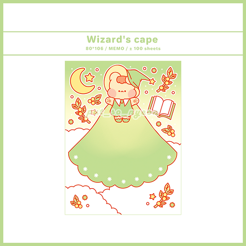 wizard cape green (70g)
