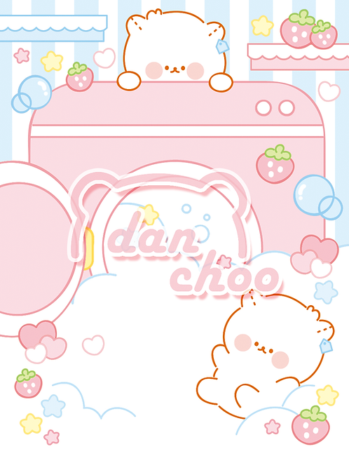 bubble washing machine (70g)