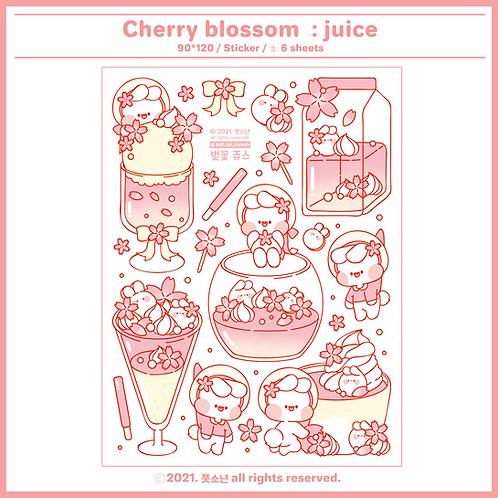 blossom juice (30g)