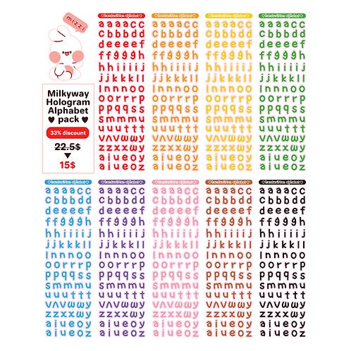 pack :  alphabet.ver1 (45g)