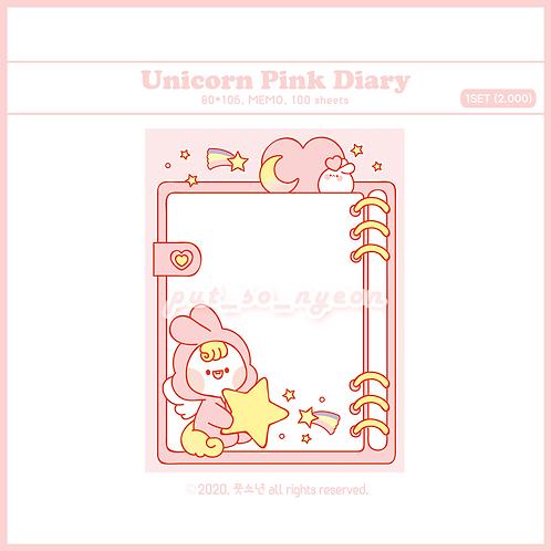diary unicorn pink (70g)