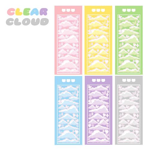 clear cloud seal pack (30g)