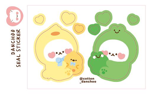 [mini hug] duck-frog (3g)