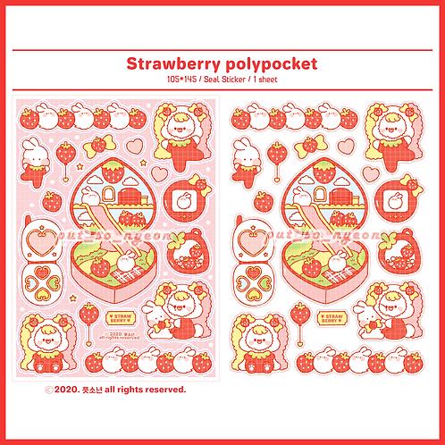 polypocket strawberry (5g)