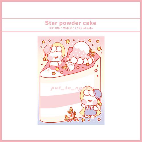 star powder cake (70g)