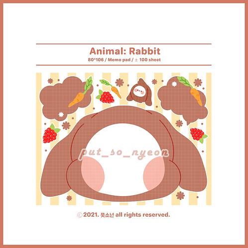 animal : rabbit (70g)