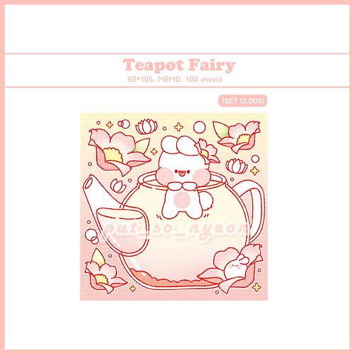 teapot pink (70g)