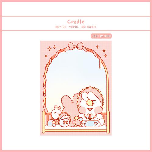baby cradle (70g)
