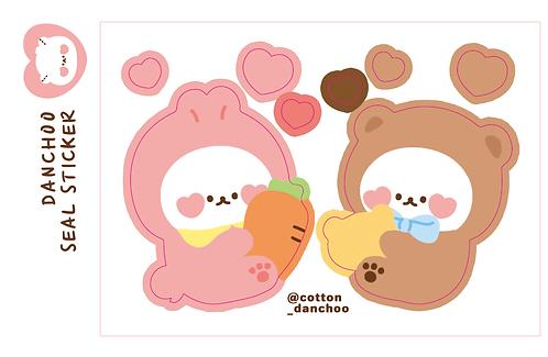 [mini hug] rabbit-bear (3g)